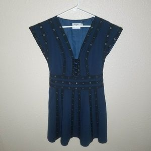 Zac Posen Dress 2 Target Snap Detail Short Sleeve